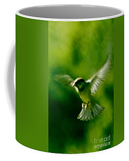 Feeling Free As A Bird Wall Art Print Coffee Mug by Carol F Austin