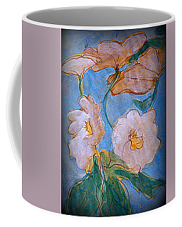 Coffee Mug featuring the painting  Feeling Free by Nancy Kane Chapman