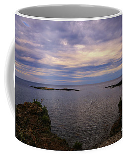 Coffee Mug featuring the photograph Feeling Good On Presque Isle by Rachel Cohen