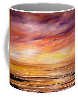 Feeling The Divinity - Sunset Painting Coffee Mug