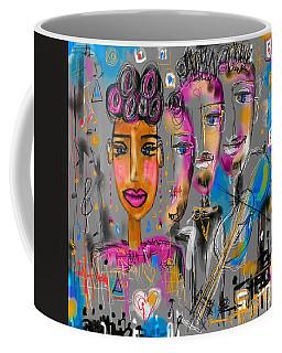 Feeling The Music  Coffee Mug
