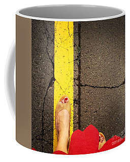 Feet Around The World #27 Coffee Mug