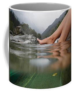 Feet On The Water Coffee Mug