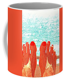 Feets Don't Fail Me Now Coffee Mug