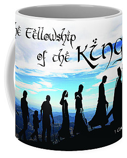 Fellowship Of The King Coffee Mug