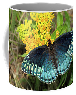 Female Diana Fritillary Coffee Mug