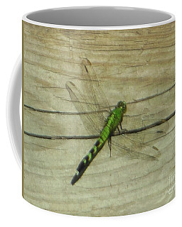 Female Eastern Pondhawk Dragonfly Coffee Mug