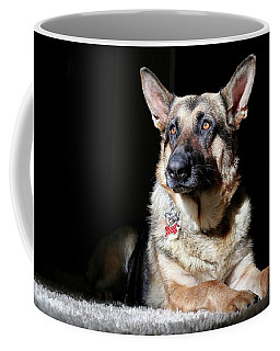 Female German Shepherd Coffee Mug