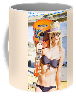 Coffee Mug featuring the photograph Female Performing Artist by Jorgo Photography - Wall Art Gallery