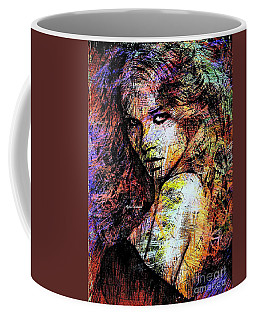 Coffee Mug featuring the digital art Female Portrait 1955 by Rafael Salazar
