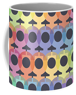 Female Sex/gender Symbols Coalesced Coffee Mug