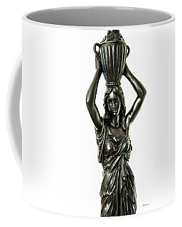 Female Water Goddess Bronze Statue 3288a Coffee Mug