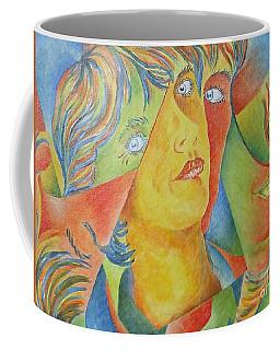 Femme Aux Trois Visages Coffee Mug