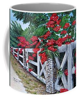 Fence Line Coffee Mug