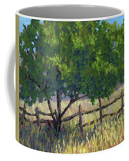 Fence Line Tree Coffee Mug