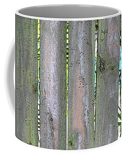 Fence South Coffee Mug
