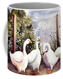 Fenced In Quackers Coffee Mug