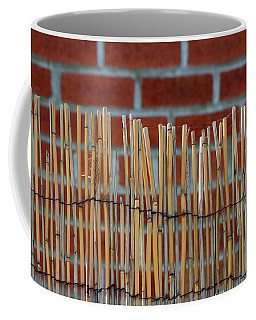 Fencing In The Wall Coffee Mug