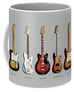 Fender Guitar Collection Coffee Mug