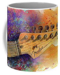 Fender Head Coffee Mug