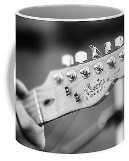 Fender Telecaster Monochrome - Detail Coffee Mug