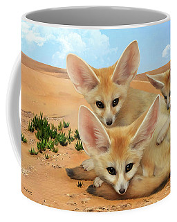 Fennec Foxes Coffee Mug