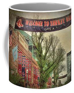 Fenway Park Yawkey Way Sign Coffee Mug