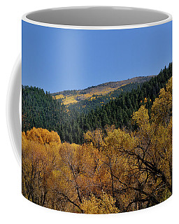 Coffee Mug featuring the photograph Fernando Peak by Ron Cline