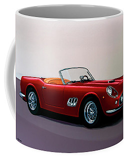 Ferrari 250 Gt California Spyder 1957 Painting Coffee Mug