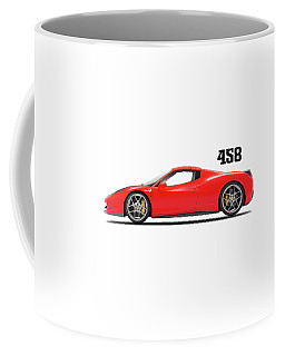 Ferrari 458 Italia Coffee Mug