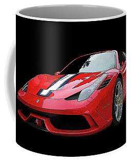 Ferrari 458 Speciale Aperta Coffee Mug