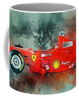 Ferrari F1 Coffee Mug