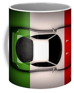 Ferrari F40 - Italian Flag Coffee Mug