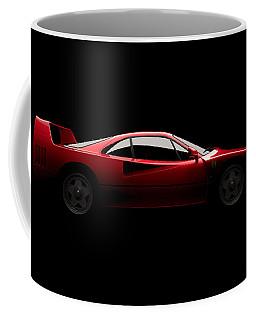 Ferrari F40 - Side View Coffee Mug