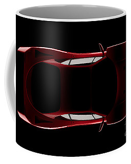 Ferrari F40 - Top View Coffee Mug