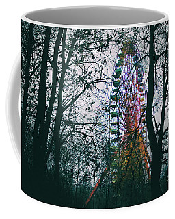 Coffee Mug featuring the photograph Ferris Wheel by Ana Mireles