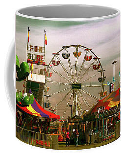 Coffee Mug featuring the photograph Ferris Wheel by Bonnie Willis