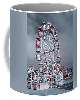Coffee Mug featuring the photograph Ferris Wheel In Morning by Greg Nyquist