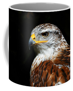 Ferruginous Hawk Portrait Coffee Mug
