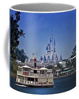 Ferry Boat Magic Kingdom Walt Disney World Mp Coffee Mug by Thomas Woolworth