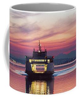 Ferry Issaquah Docking At Dawn Coffee Mug