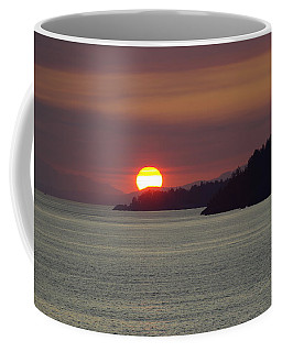 Ferry Sunset Coffee Mug