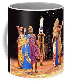 Festival Of The Lion King Coffee Mug by Carol  Bradley