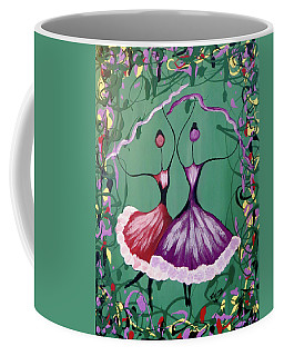 Festive Dancers Coffee Mug
