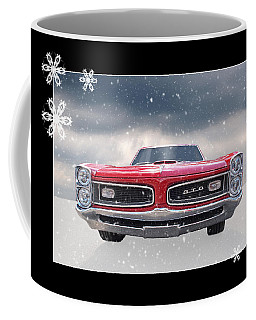 Festive Pontiac Gto Coffee Mug