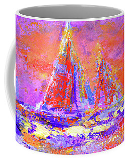 Festive Sailboats 11-28-16 Coffee Mug