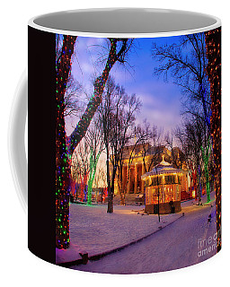 Coffee Mug featuring the photograph Courthouse Square by Scott Kemper