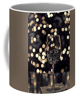 Festive White Wine Coffee Mug