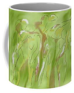 Few Figures Coffee Mug by Mary Armstrong