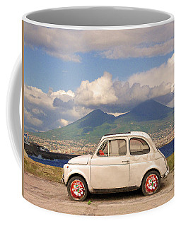 Fiat 500 Pizza Coffee Mug